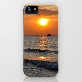 SUMMER-FEELING - Sunset - Baltic Sea iPhone Case