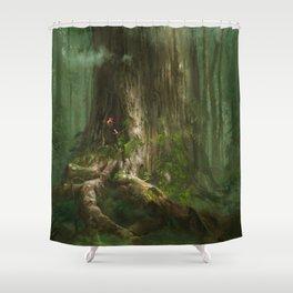 Secret of Mana Shower Curtain
