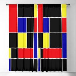 Mondrian #49 Blackout Curtain