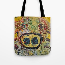 Contemporary Cow Tote Bag