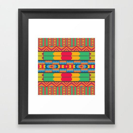 Mix #89 Framed Art Print