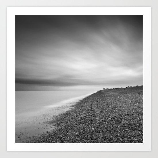 Aldeburgh, Suffolk at Dawn Art Print
