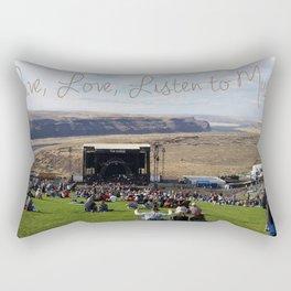 Heaven's Amphitheater Rectangular Pillow