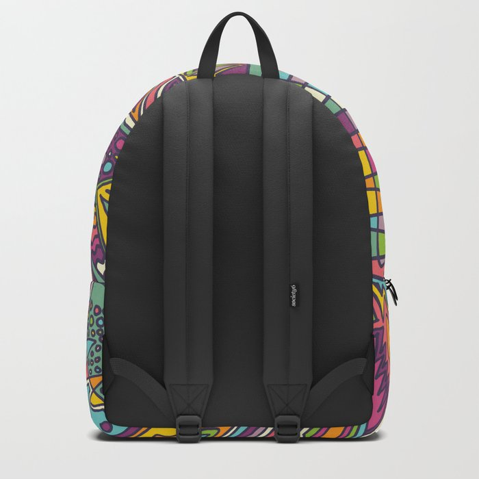 Colourful Chaos Backpack