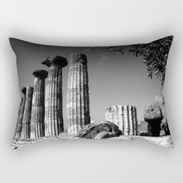 Valle dei templi / Temple valley Rectangular Pillow