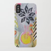 """flora bowley iPhone & iPod Cases featuring """"Intermix"""" Original Painting by Flora Bowley by Flora Bowley"""