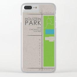 Chicago - Holstein Park Clear iPhone Case
