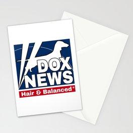 dox news Stationery Cards
