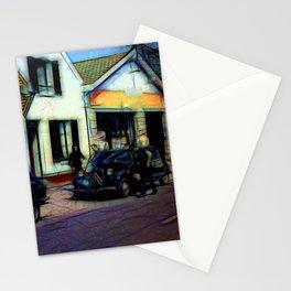 Vintage Garage Stationery Cards