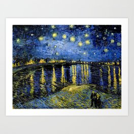 Vincent Van Gogh Starry Night Kunstdrucke