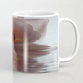 Pink Rose Reflected Coffee Mug