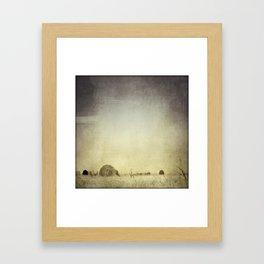 Let the Rain Come Down Framed Art Print