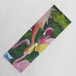 Flamingo Love Yoga Mat