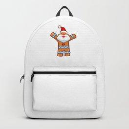 Ginger Beard Man Bread Man Funny Christmas Backpack