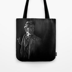 Stepping Out - Doctor Who Tote Bag