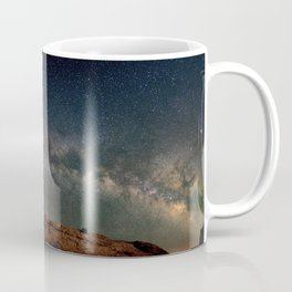 Starry Night Over Mesa Arch Coffee Mug