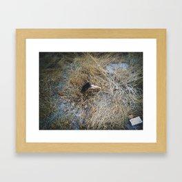 Juguetes rotos Framed Art Print