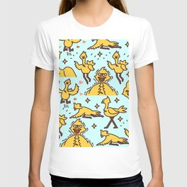 Chocobo Collage T-shirt
