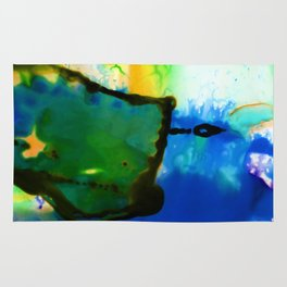 Abstract Bliss 4I by Kathy Morton Stanion Rug