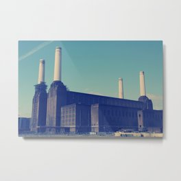 Battersea Power Station 3 Metal Print