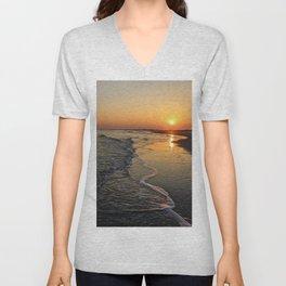 Folly Beach Unisex V-Neck