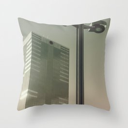 Brussels Belgian Surrealism Throw Pillow