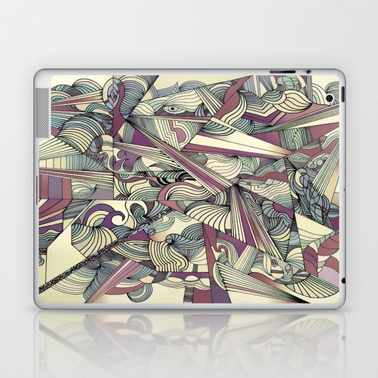 When my Mind Goes Boom. Laptop & iPad Skin