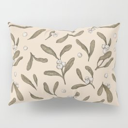 Mistletoe Pattern Pillow Sham