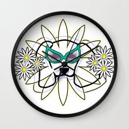 Sassy Pooch Wall Clock