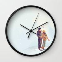 viria Wall Clocks featuring reigisa by viria