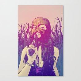 Masked & Dangerous Canvas Print