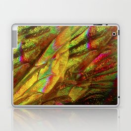 BEE WINGS MAGNIFIED - HYLAEUS PICTIPES Laptop & iPad Skin
