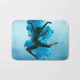Ballet Dancer in Deep Sea. Bath Mat