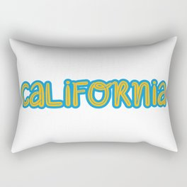 Cute California Rectangular Pillow
