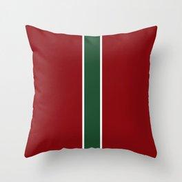 Red White Green Throw Pillow