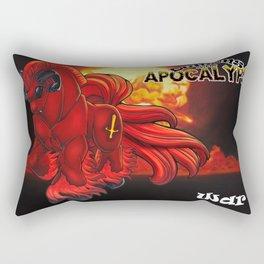 Demons of the Apocalypse - War Rectangular Pillow