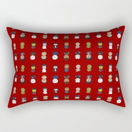 Hooray for Horror Rectangular Pillow
