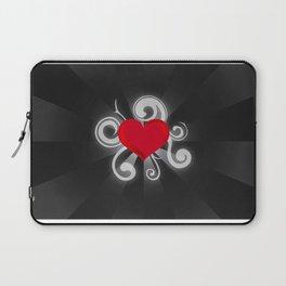Illuminated Heart Laptop Sleeve