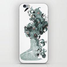 Freya's Hair (Teal) iPhone & iPod Skin