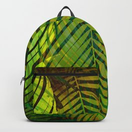 TROPICAL GREENERY LEAVES no2 Backpack