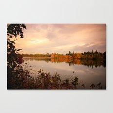 Fall in Canada Canvas Print