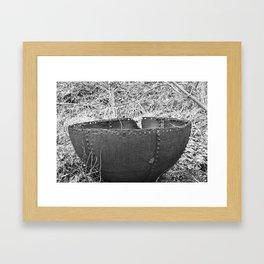 Boiler End Framed Art Print