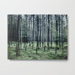 La forêt de Brompton Metal Print