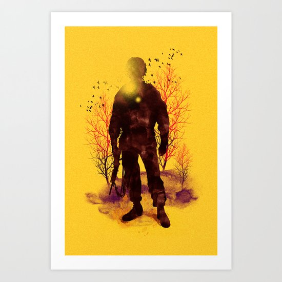 Back to My Homeland Art Print