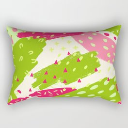 Neon Fun 3 Rectangular Pillow