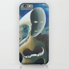 Self-Made Man and Empty-Headed Woman (1994) iPhone Case