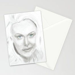 Woman 2 Stationery Cards