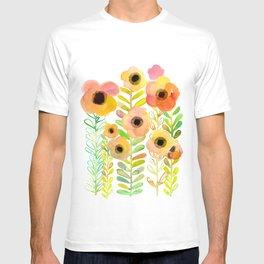 Peony field T-shirt