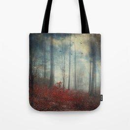 open woodland dreams Tote Bag