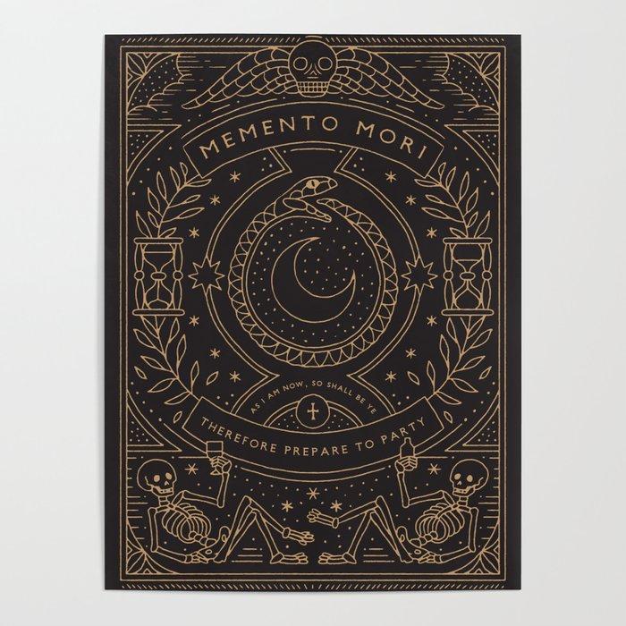 Memento Mori - Prepare to Party Poster